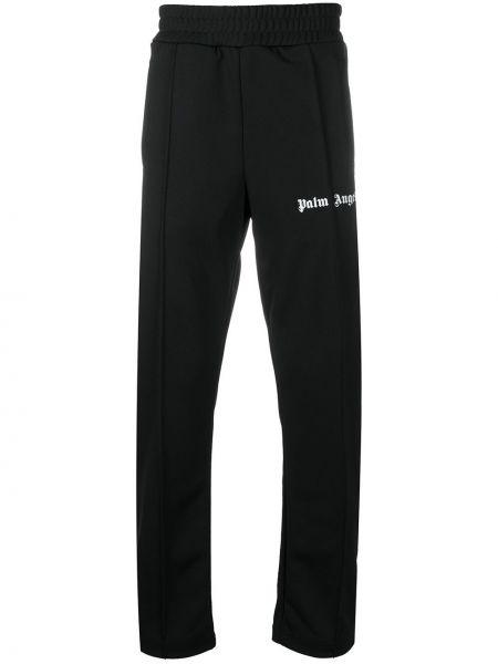 Czarny sportowe spodnie Palm Angels