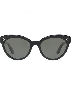 Темные солнцезащитные очки - черные Oliver Peoples