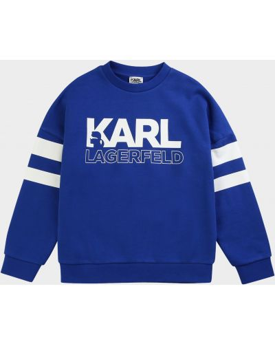Текстильный повседневный свитер Karl Lagerfeld