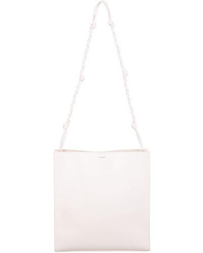 Biała torebka Jil Sander