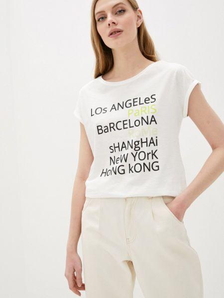 Футбольная белая футболка Jacqueline De Yong