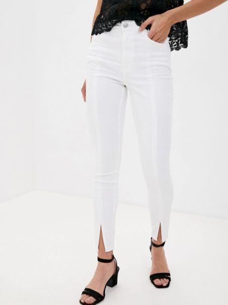Белые повседневные брюки Pimkie