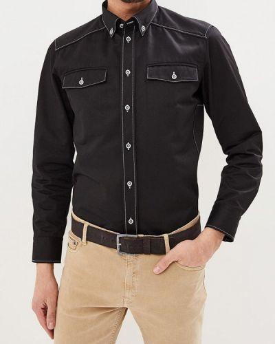 Рубашка с длинным рукавом черная Elijah & Sims