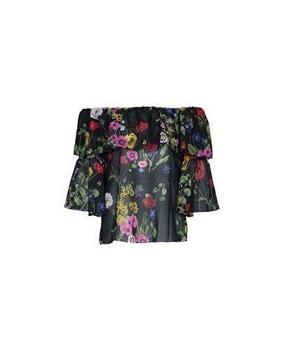 Блузка из полиэстера - черная Blugirl