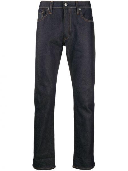 Хлопковые синие классические брюки стрейч Levi's®  Made & Crafted™