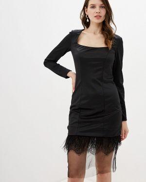 Вечернее платье черное Gepur