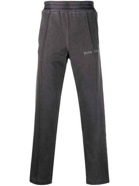 Spodni prosto czarny spodnie o prostym kroju wysoki wzrost Palm Angels