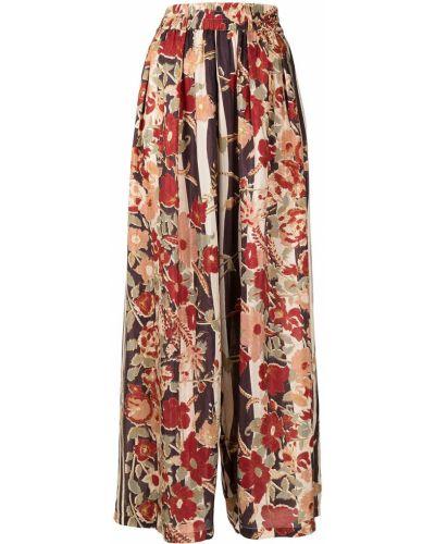Шелковая юбка макси - коричневая Mes Demoiselles