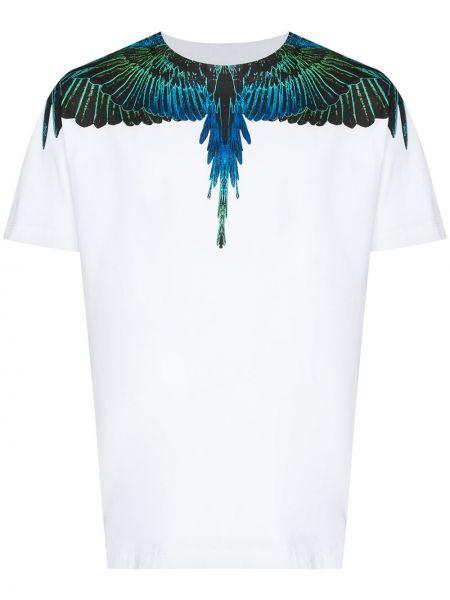 Bawełna niebieski bawełna koszula Marcelo Burlon County Of Milan