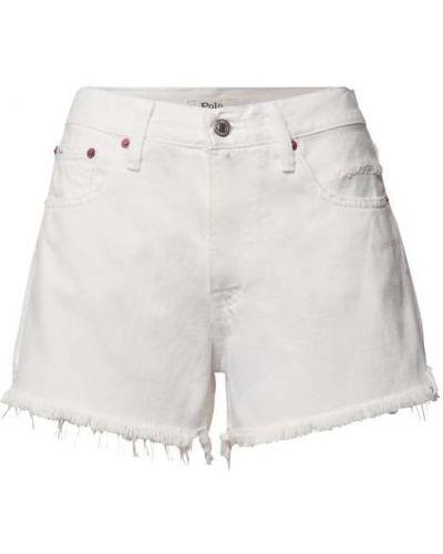 Białe szorty bawełniane Polo Ralph Lauren