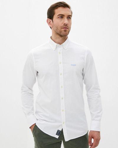 Белая рубашка с длинным рукавом Galvanni