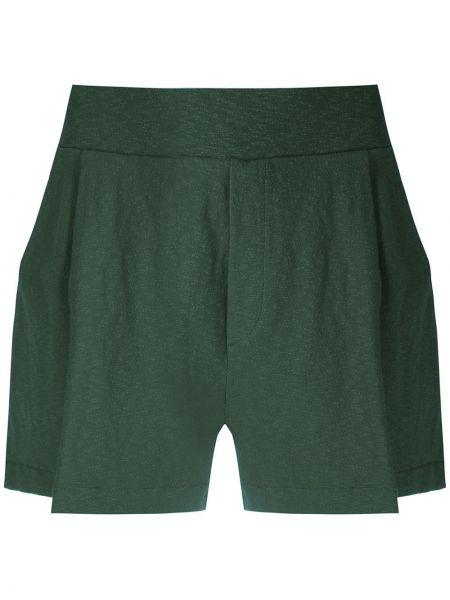 Зеленые шорты с карманами Osklen