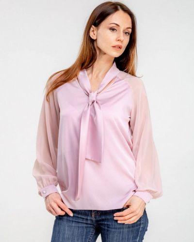 Розовая блузка Dressinjoy By Lipashova & Malko