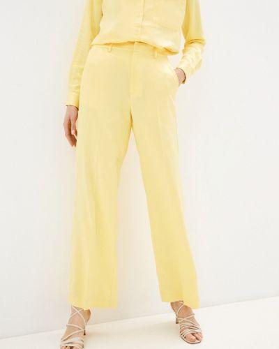 Повседневные желтые брюки Mbym