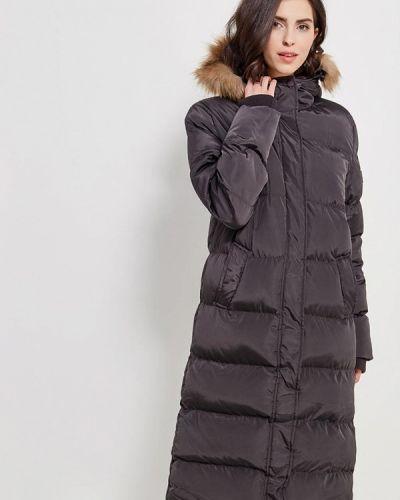 Серая утепленная куртка Papermint