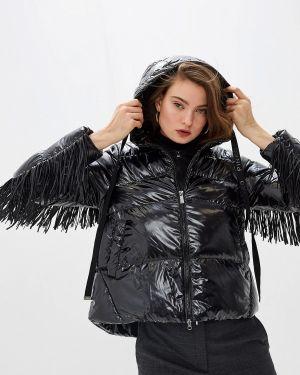 Зимняя куртка утепленная черная Pinko