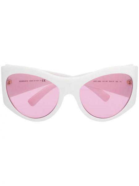 Солнцезащитные очки хаки Versace Eyewear