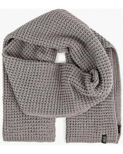 Серый шарф 2018 Jack Wolfskin