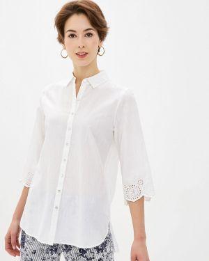 Блузка с длинным рукавом белая весенний Gerry Weber