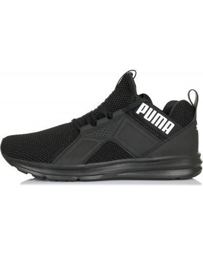 Черные кроссовки беговые Puma