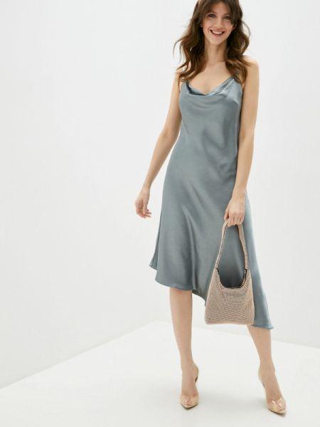 Платье серое платье-комбинация Chi Chi London