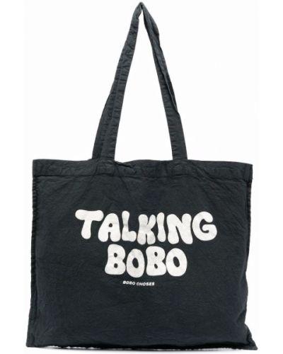 Biała torebka z printem Bobo Choses