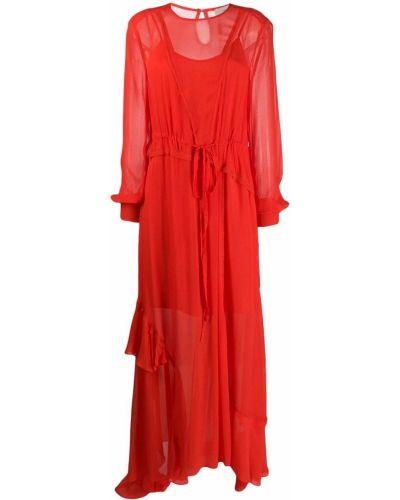 Приталенное платье макси Preen Line