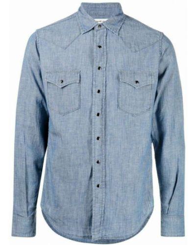 Koszula - niebieska Saint Laurent