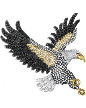 Брошь из золота из серебра Pokrovsky