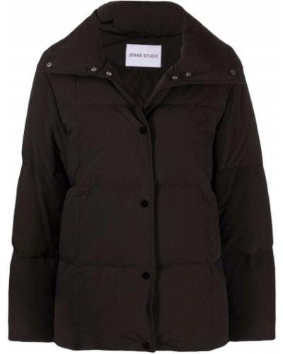 Длинная куртка - черная Stand Studio