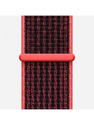 Czerwony sport zegarek do biegania na rzepy Nike