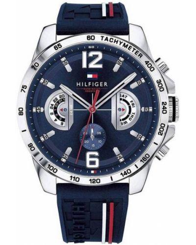 Szary zegarek silikon Tommy Hilfiger