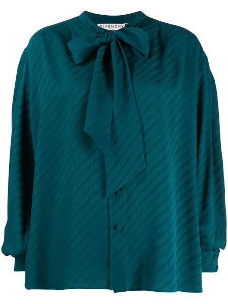 Bluzka jedwabna latarka z rękawem Givenchy