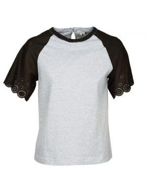 Szary t-shirt Manoush
