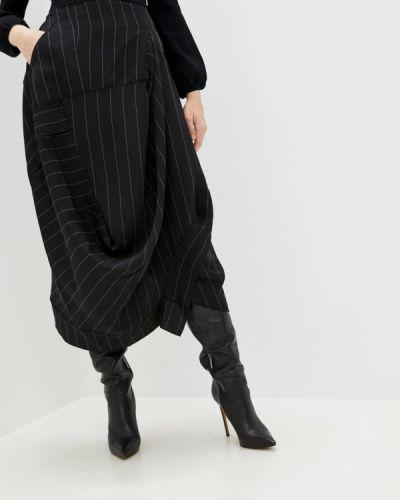 Черная юбка свободного кроя High