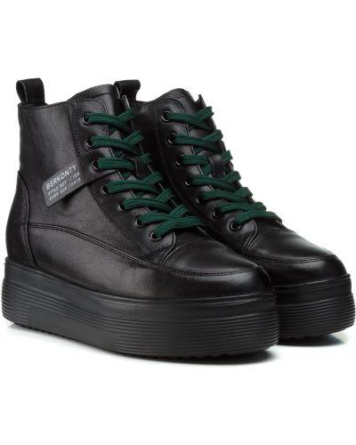 Ботинки - черные Berkonty