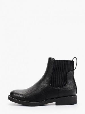Черные демисезонные ботинки челси Ideal Shoes®