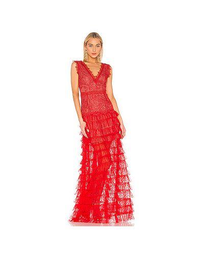 Вечернее платье на молнии красный Bronx And Banco