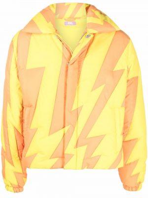 Żółta klasyczna kurtka Erl