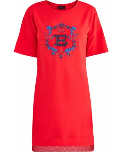 Платье с вышивкой футболка Ermanno Ermanno Scervino