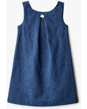 Платье синий повседневное Button Blue
