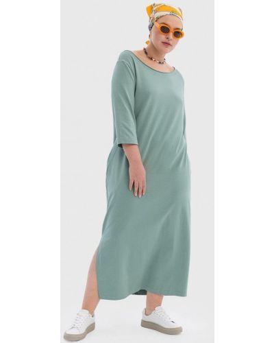 Повседневное платье - бирюзовое Lessismore