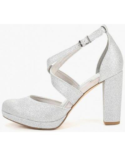 Туфли на каблуке с открытой стопой Tamaris