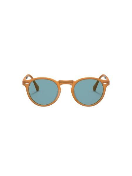 Pomarańczowe okulary Oliver Peoples