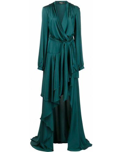 Платье макси длинное - синее Patbo
