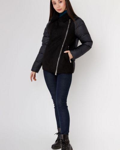 Куртка на молнии - черная Evacana