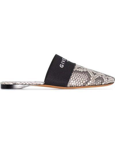 Skórzany muły Givenchy