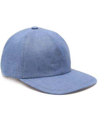 Бейсболка синий Loro Piana