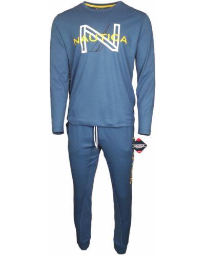 Пижама с рисунком - синяя Nautica