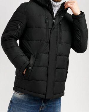 Зимняя куртка утепленная черная Finn Flare